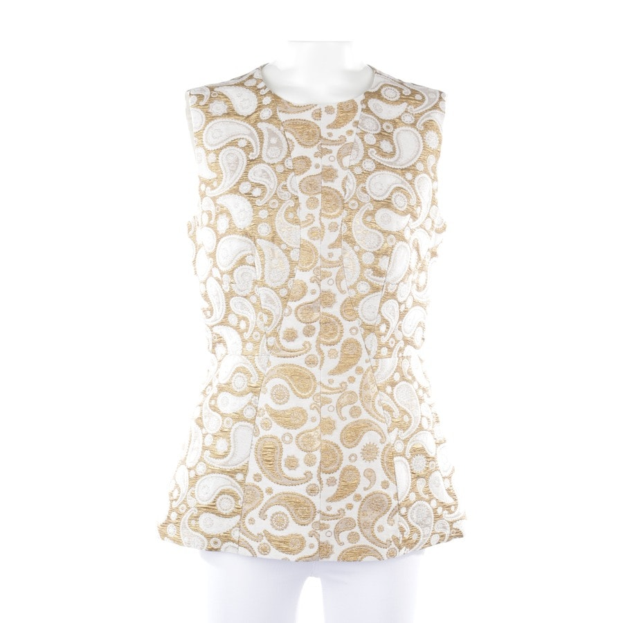 shirts / tops from Stella McCartney in gold and white size 36 IT 42