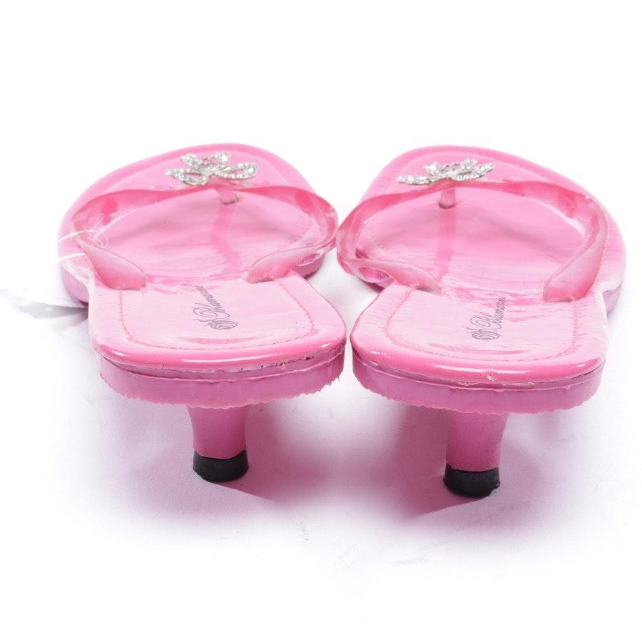 Sandaletten von Blumarine in Rosa Gr. EUR 39
