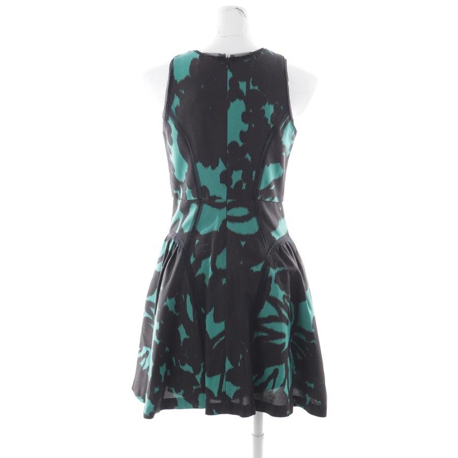Kleid von Milly in Schwarz und Grün Gr. DE 34 US 4