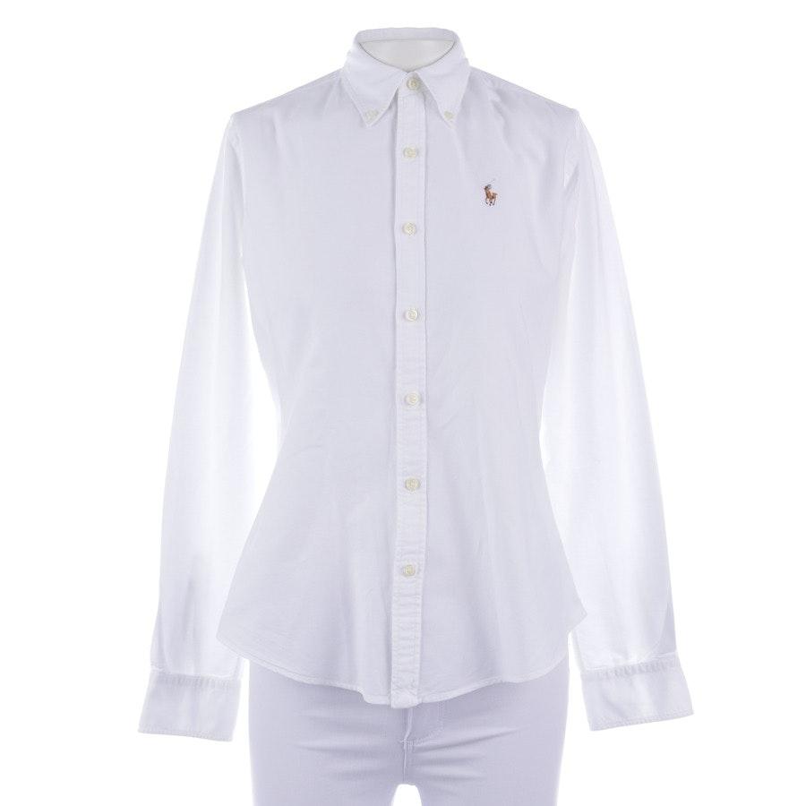 Bluse von Polo Ralph Lauren in Weiß Gr. 32 US 2
