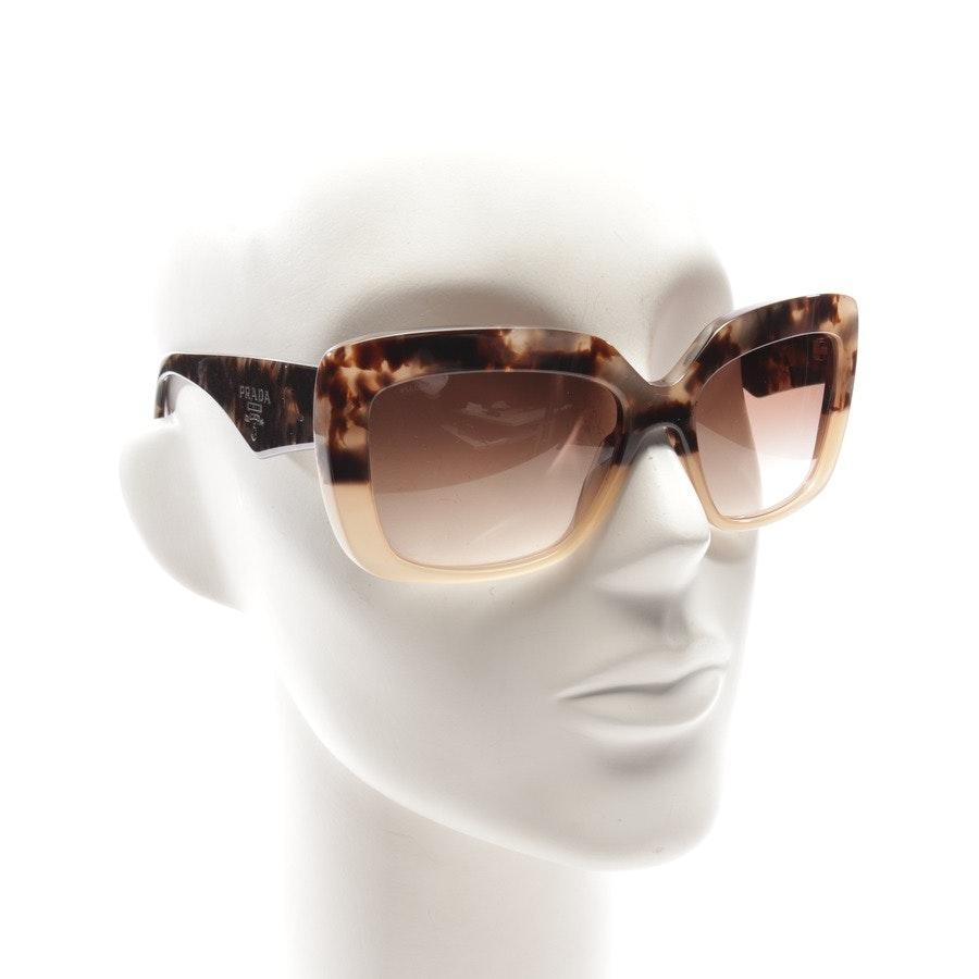 Sonnenbrille von Prada in Braun
