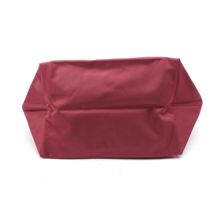 Handtasche von Longchamp in Weinrot - Le Pliage M
