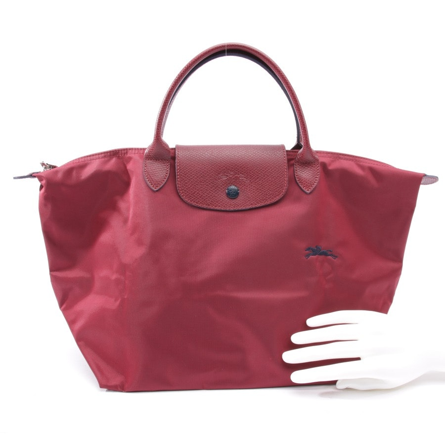 handbag from Longchamp in burgundy - le pliage m