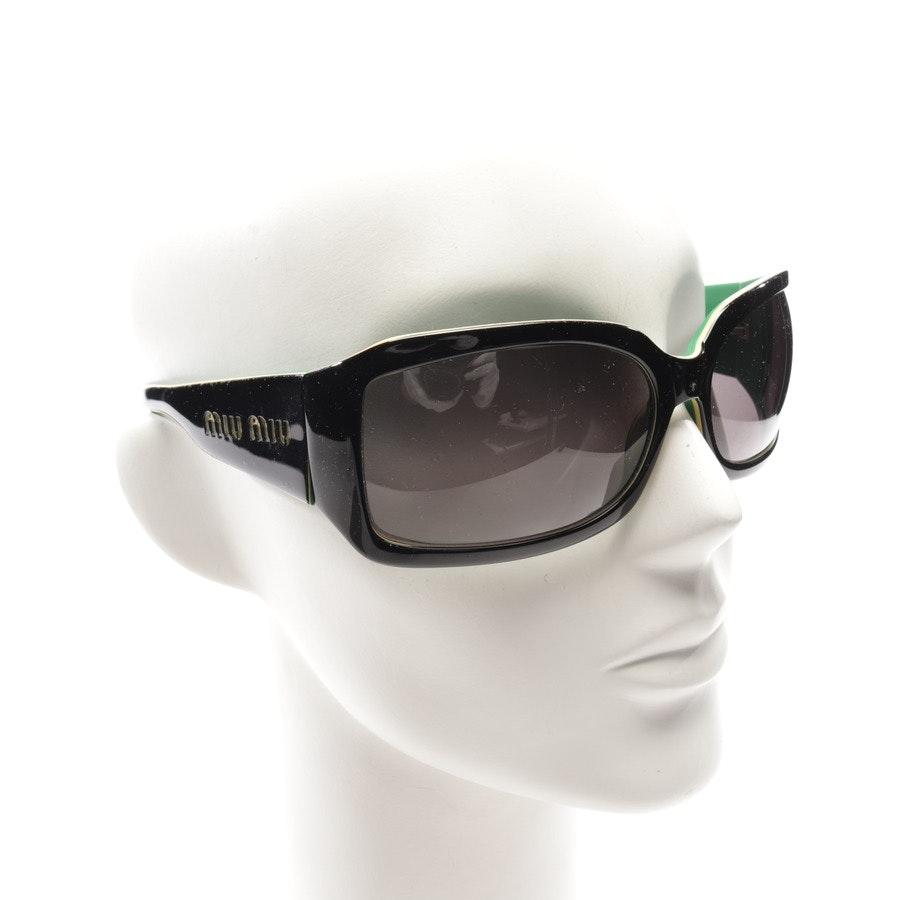 Sonnenbrille von Miu Miu in Schwarz - SMU08F