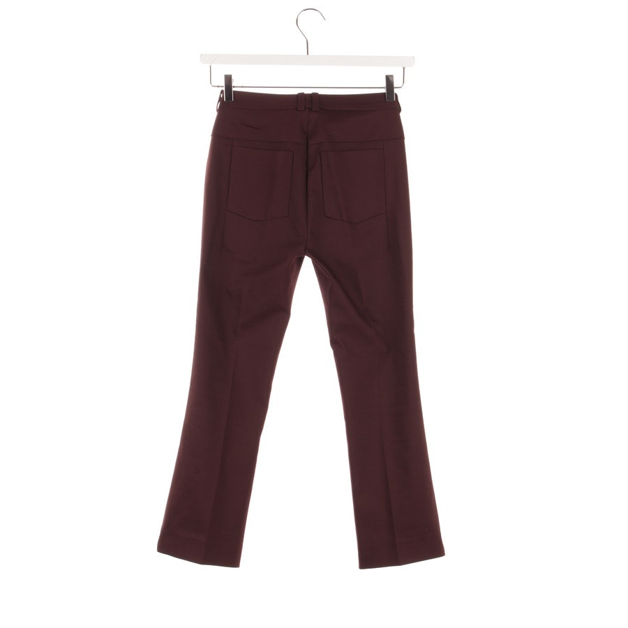 trousers from Drykorn in eggplant size W26