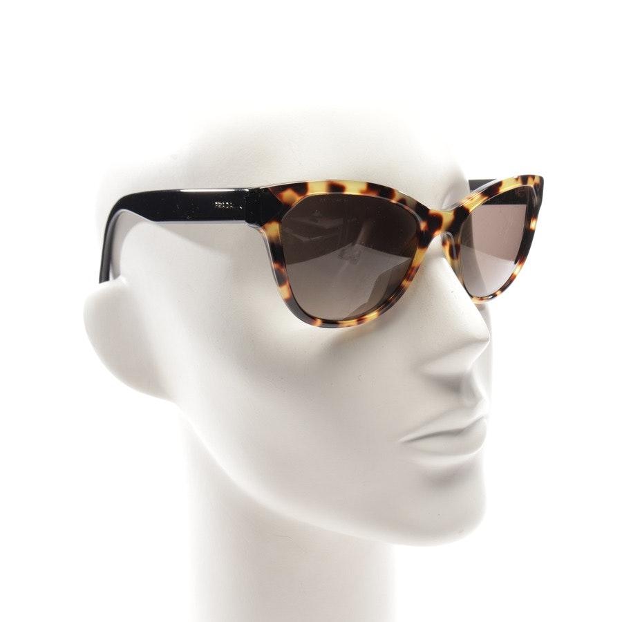 Sonnenbrille von Prada in Braun und Schwarz - SPR21S