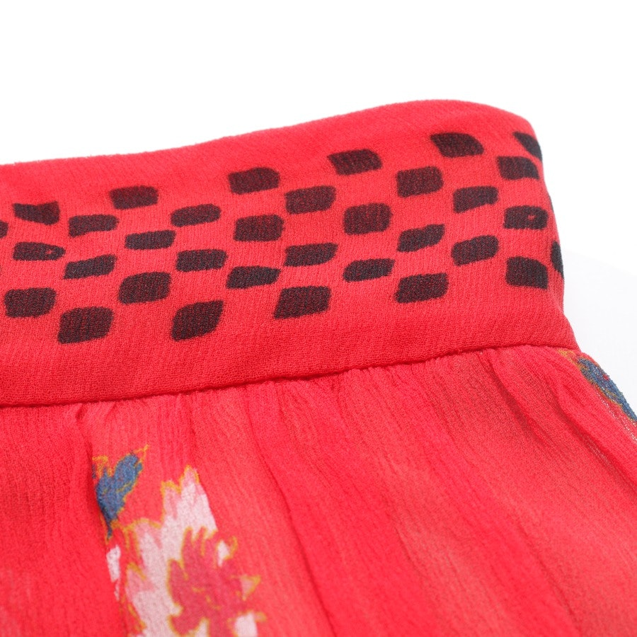 skirt from Philosophy di Lorenzo Serafini in red and black size 38 - new