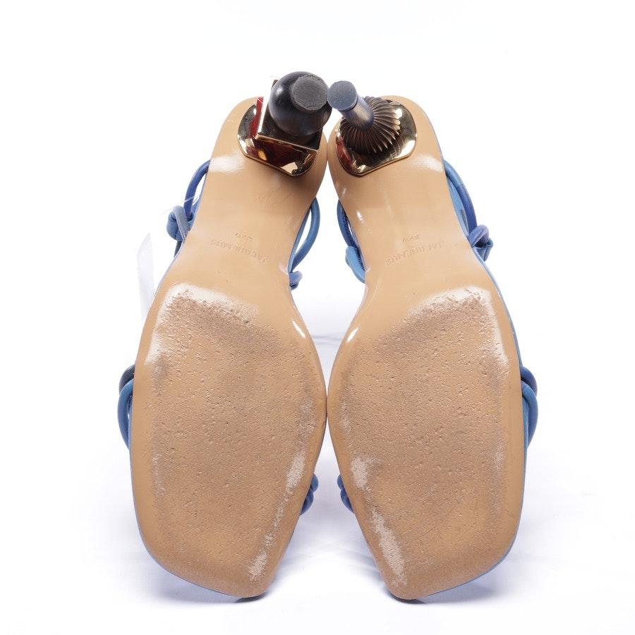 Sandaletten von Jacquemus in Blau Gr. EUR 39,5 - Olbia
