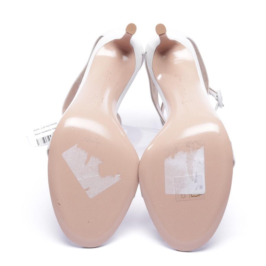 Sandaletten von Gianvito Rossi in Weiß Gr. EUR 40 - Neu