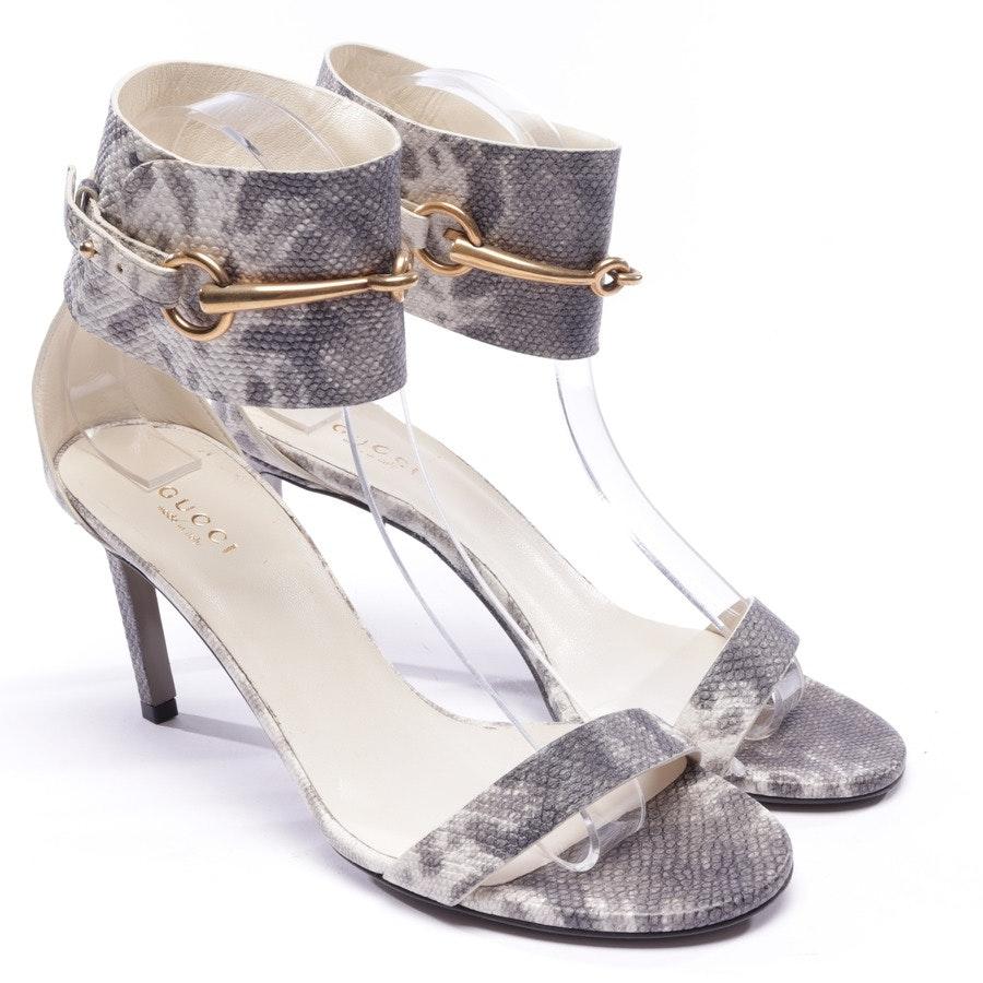 Sandaletten von Gucci in Cremeweiß Gr. D 37