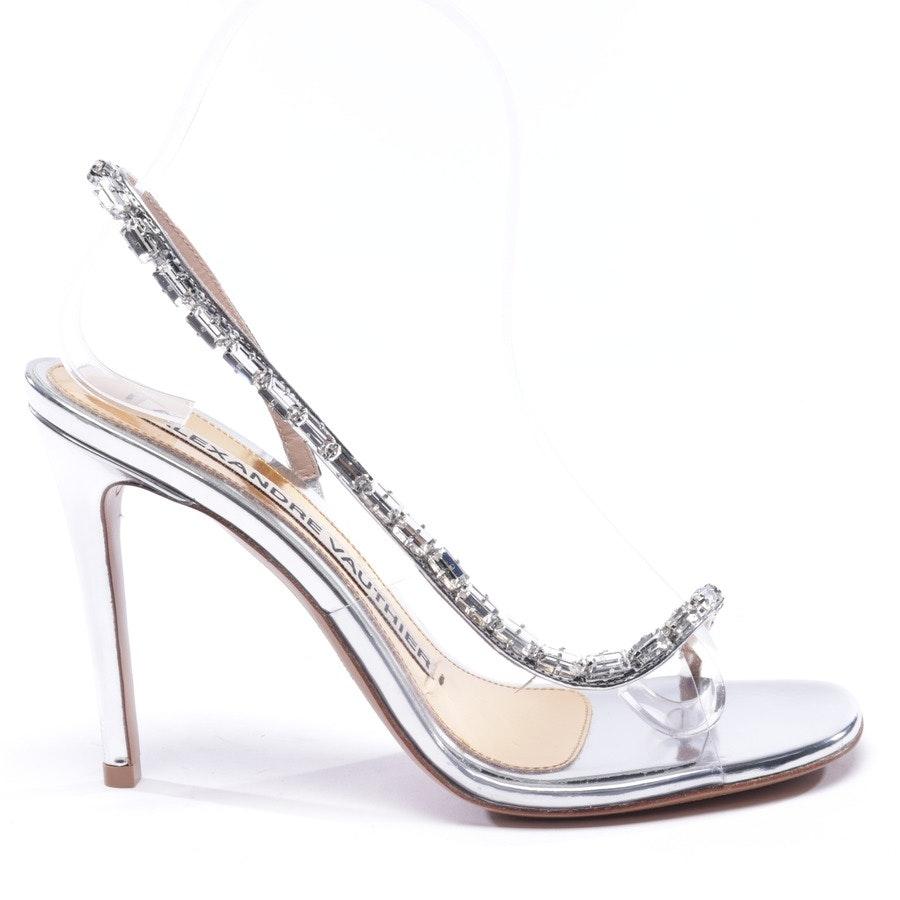Sandaletten von Alexandre Vauthier in Silber Gr. EUR 37,5 - Neu