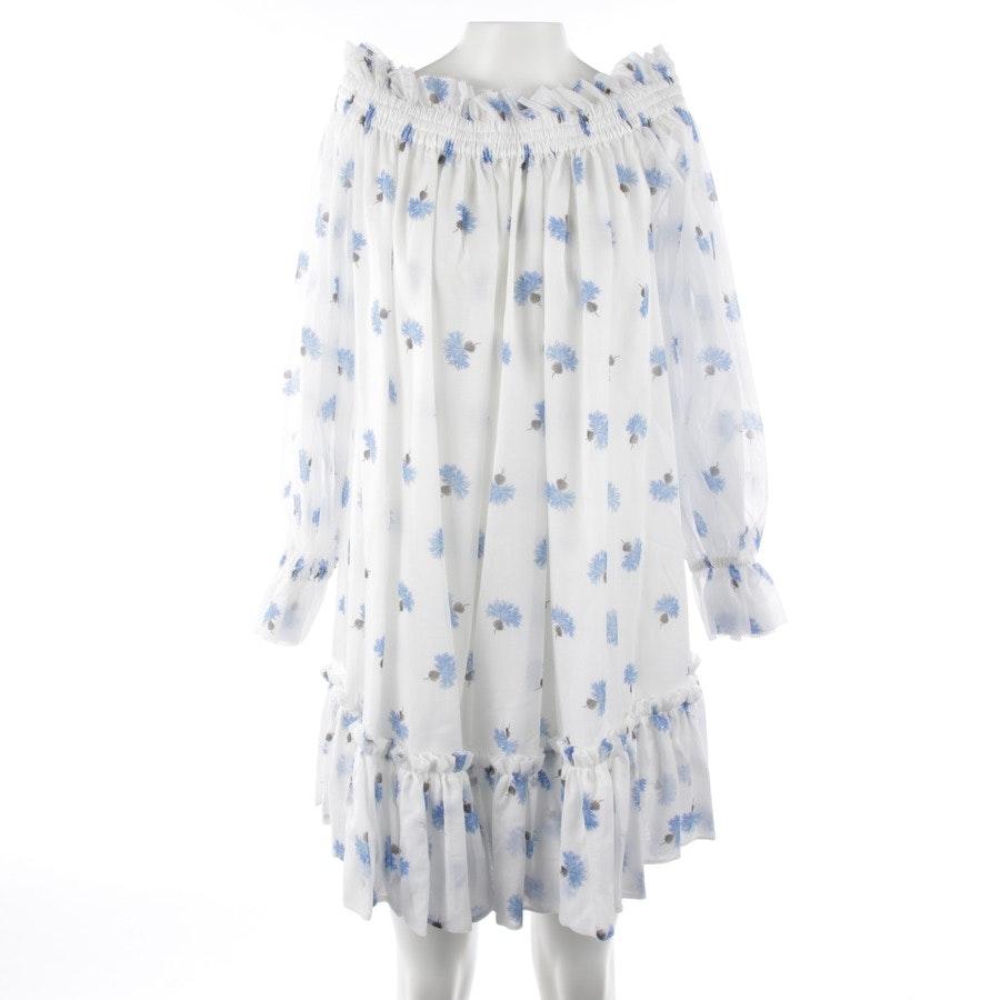 Kleid von Alexander McQueen in Weiß und Multicolor Gr. 36 IT 42 - Neu