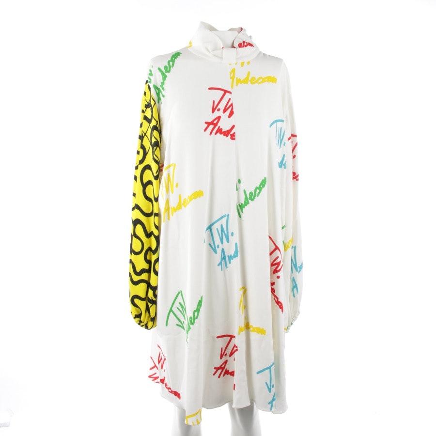 Kleid von JW Anderson in Cremeweiß und Multicolor Gr. 36 UK 10 - Neu
