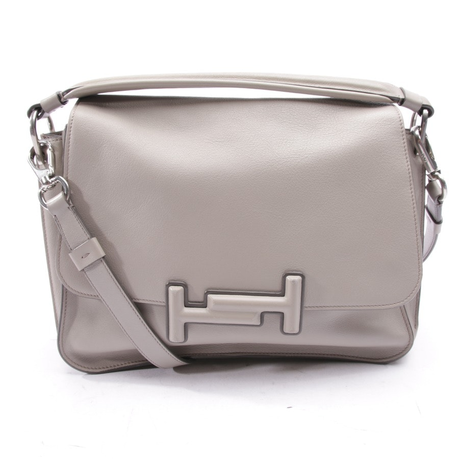 shoulder bag from Tod´s in grey - double t