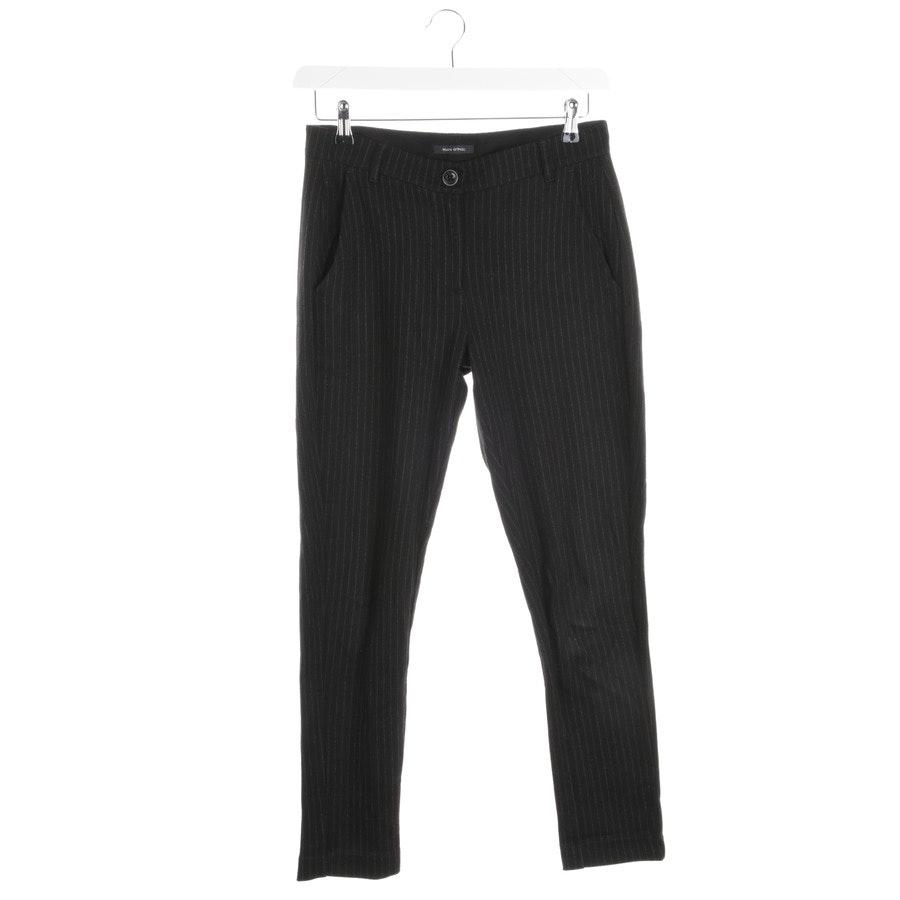 Hose von Marc O'Polo in Schwarz und Grau Gr. 36