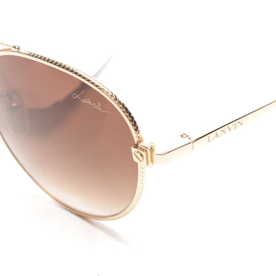 sunglasses from Lanvin in gold - sln067