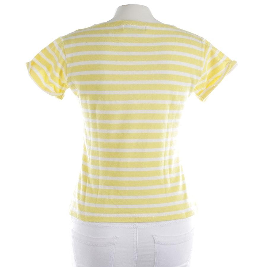 Shirt von Maison Labiche in Gelb und Weiß Gr. M