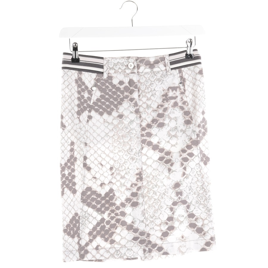 skirt from Marc Cain in beige and grey size 36 N2