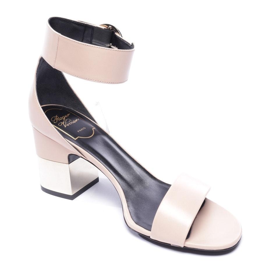 Sandaletten von Roger Vivier in Nude Gr. EUR 38 - Neu