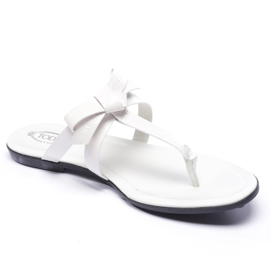 flat sandals from Tod´s in cream size EUR 40 - new