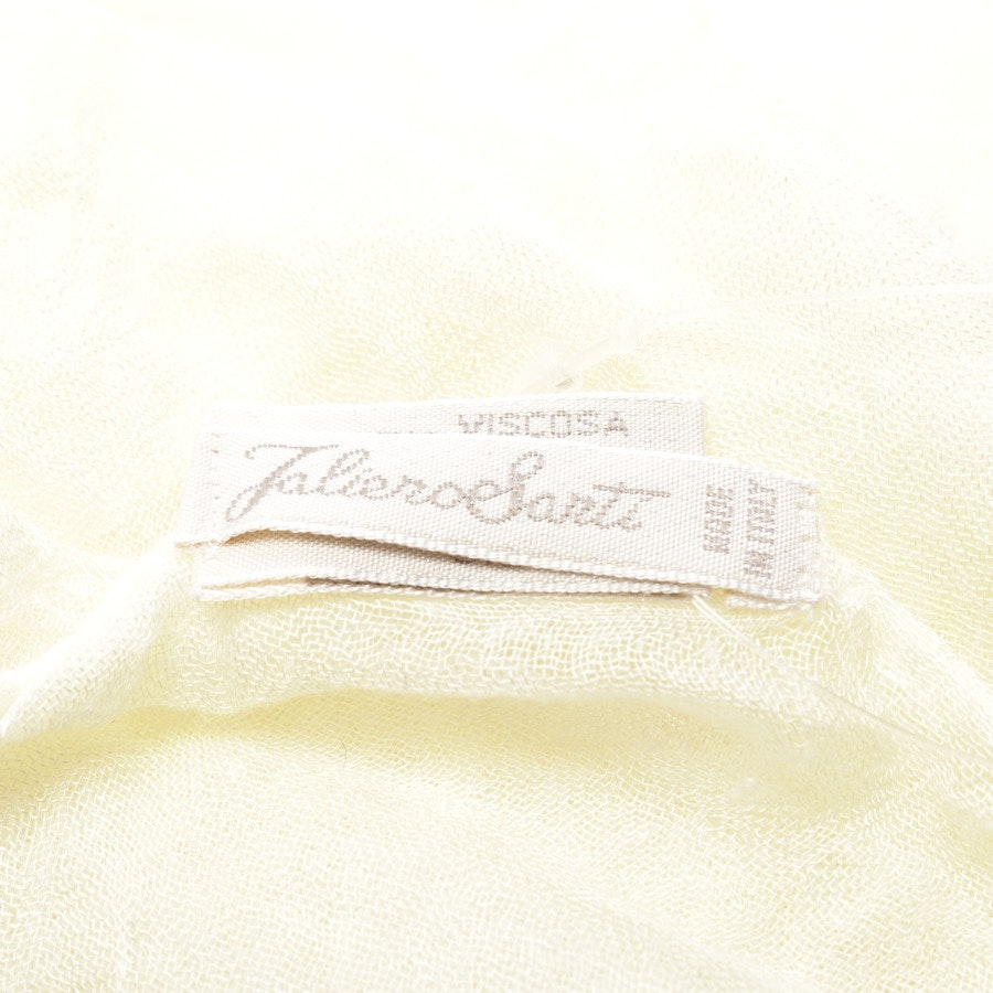 scarf from Faliero Sarti in pastel yellow