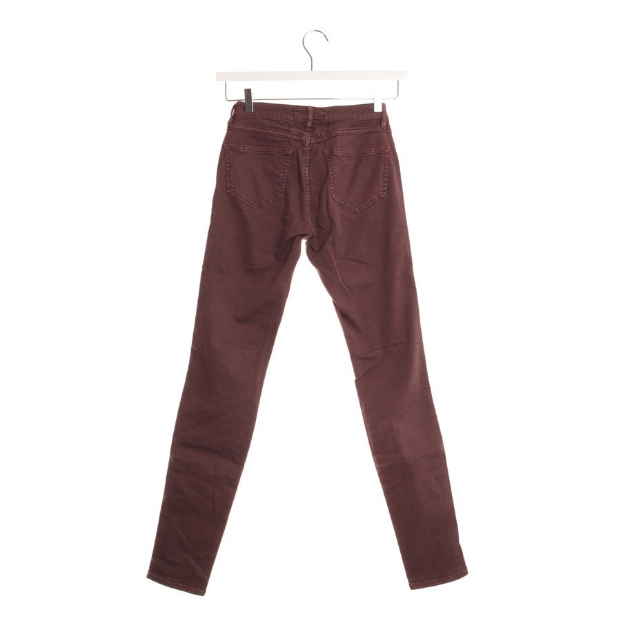 jeans from Closed in eggplant size W25 - star pedal model
