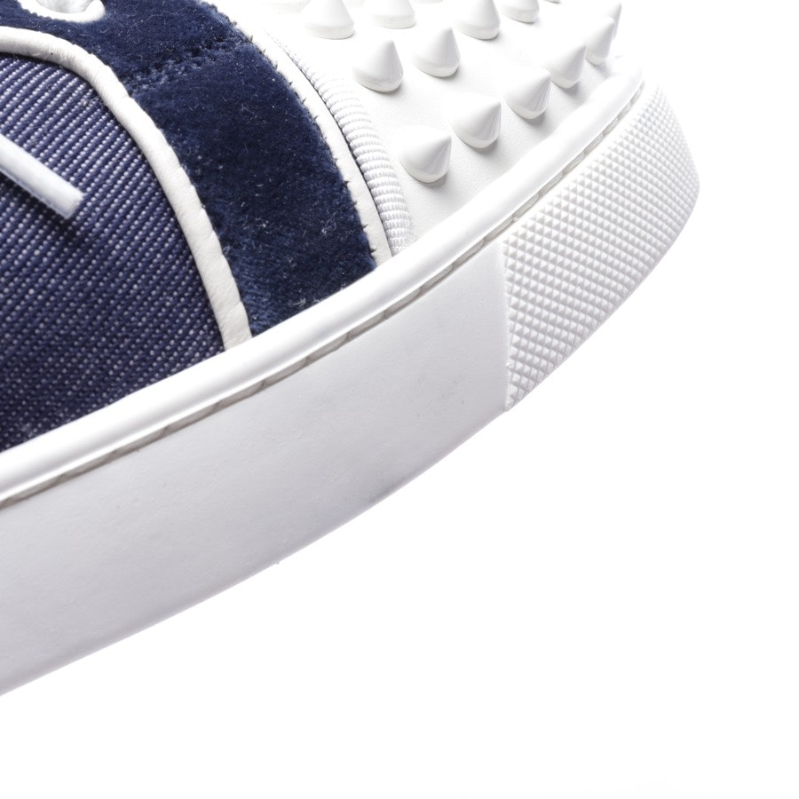 trainers from Christian Louboutin in blue and white size D 38,5