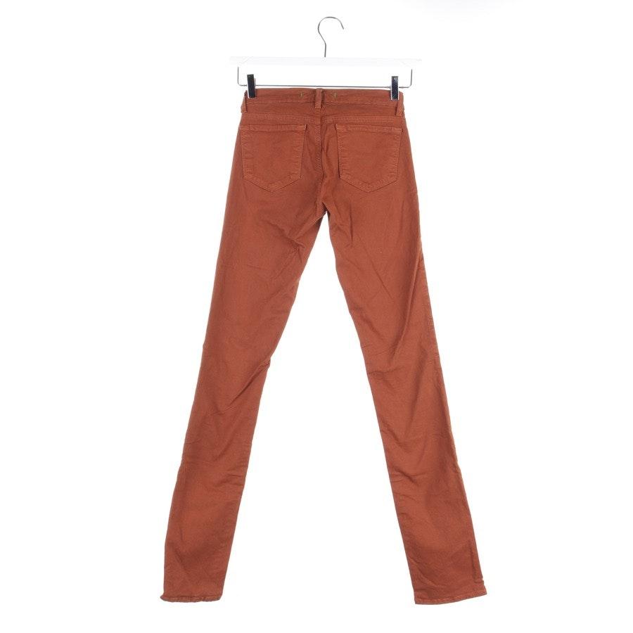 Jeans von J Brand in Cognac Gr. W25 - Pencil Leg