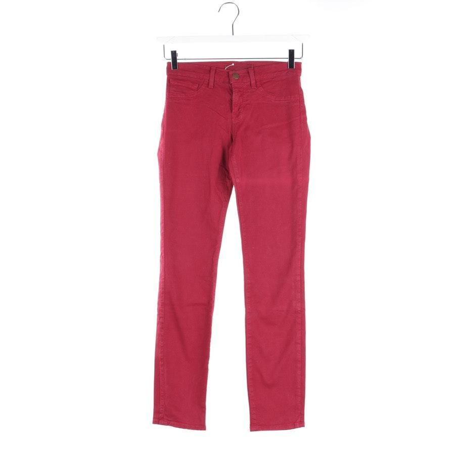 Jeans von J Brand in Himbeerrot Gr. W25 - Skinny Leg