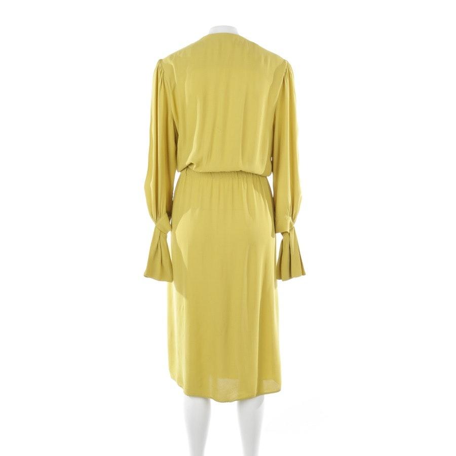Kleid von Elisabetta Franchi in Senfgelb Gr. 38 IT 44