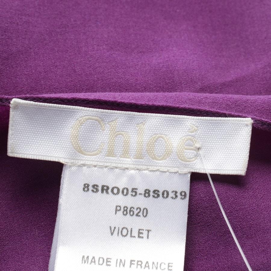Sommerkleid von Chloé in Lila Gr. 38 FR 40