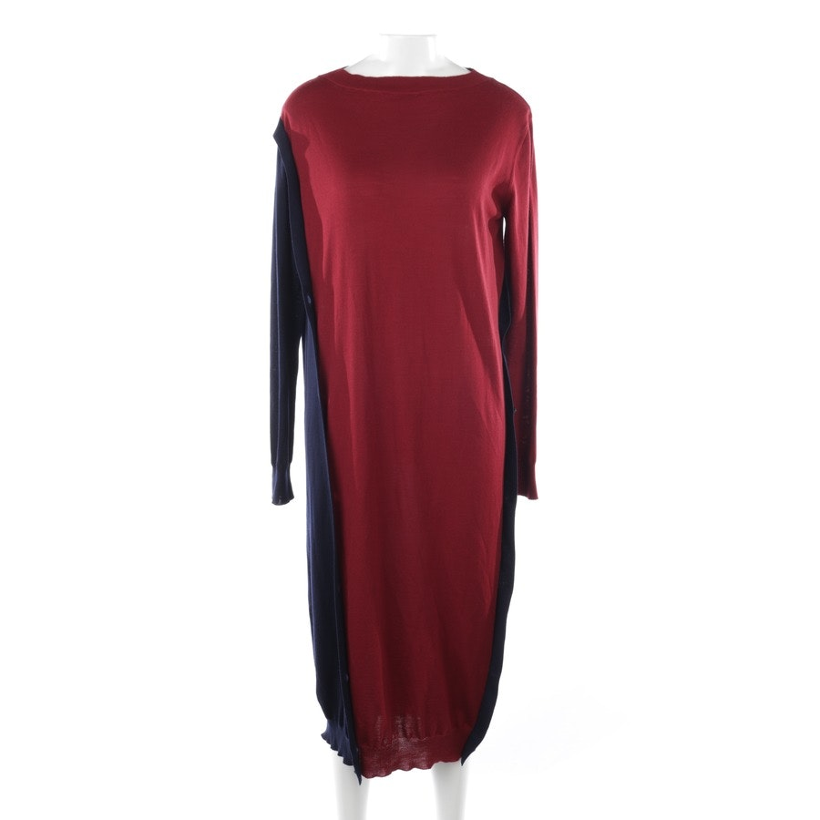 dress from Marni in bordeaux and blue size 36 IT 42 - new