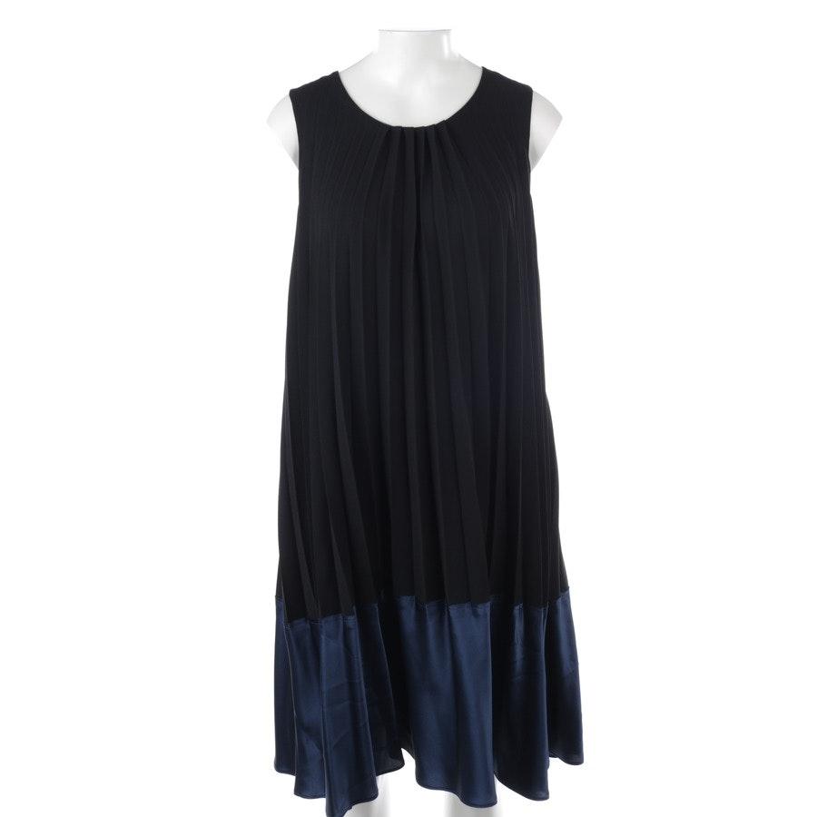 Kleid von Strenesse in Dunkelblau und Schwarz Gr. 38