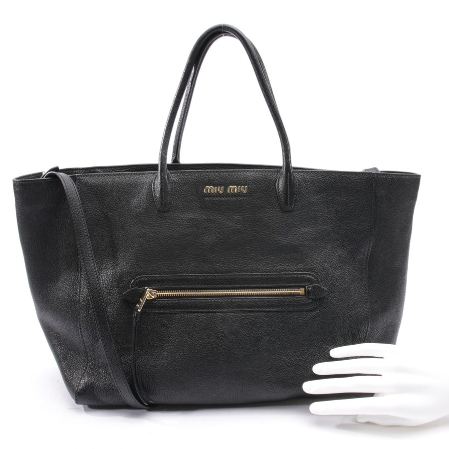 shopper from Miu Miu in black - new