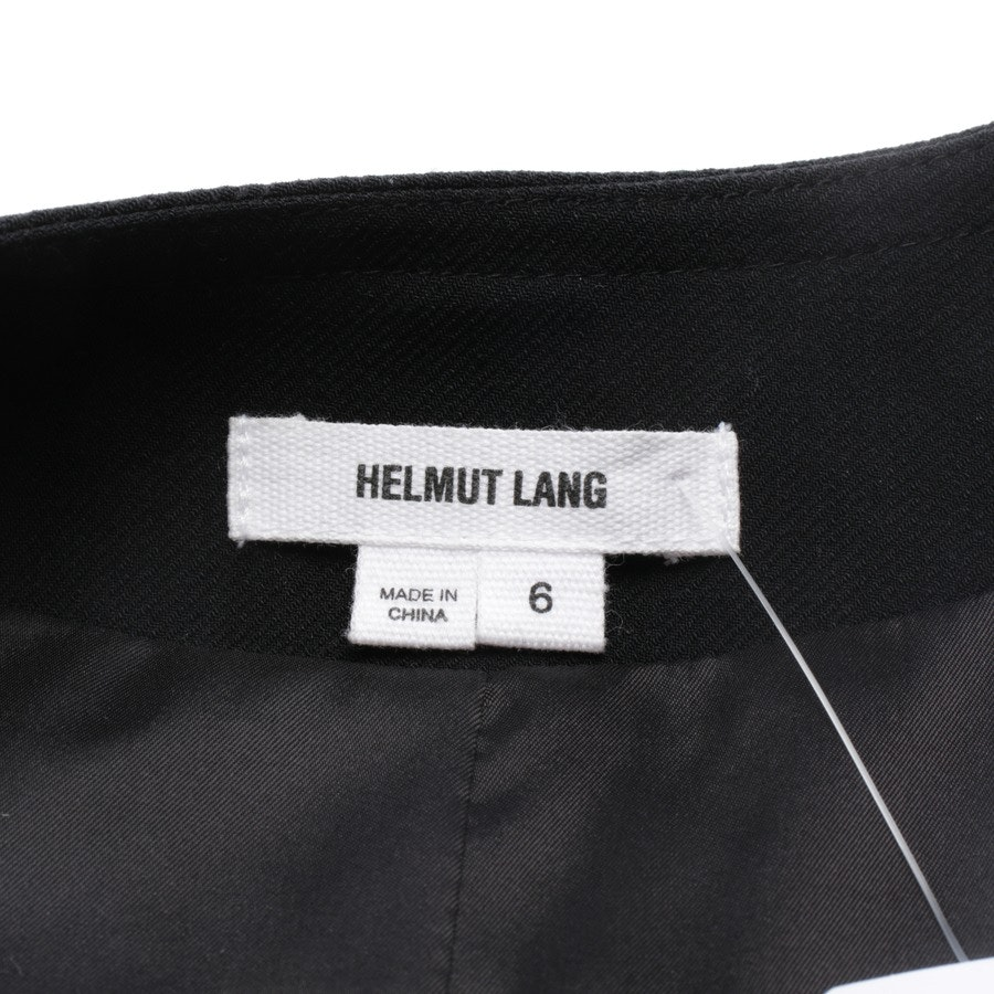 between-seasons jackets from Helmut Lang in black size 36 US 6
