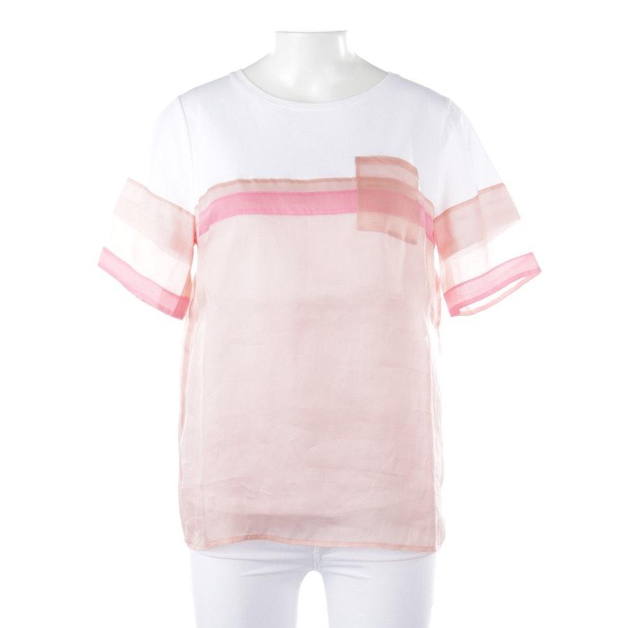 Shirt von Riani in Weiß und Rosa Gr. 38 - Neu