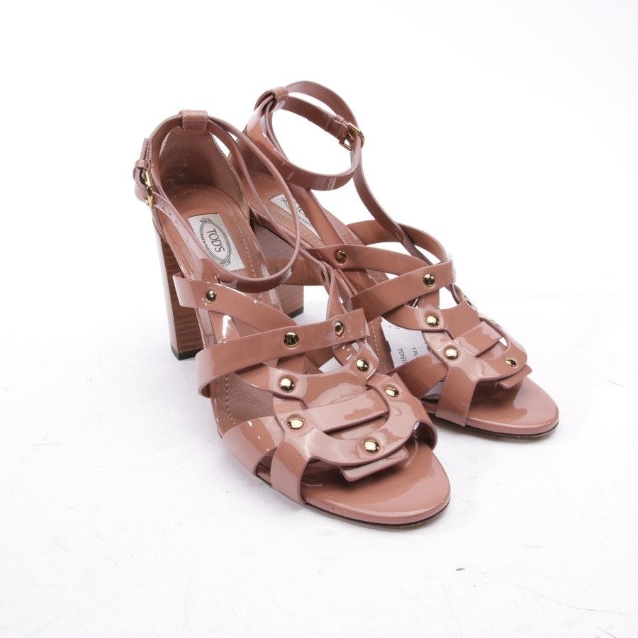 Sandaletten von Tod´s in Beigerosa Gr. EUR 40