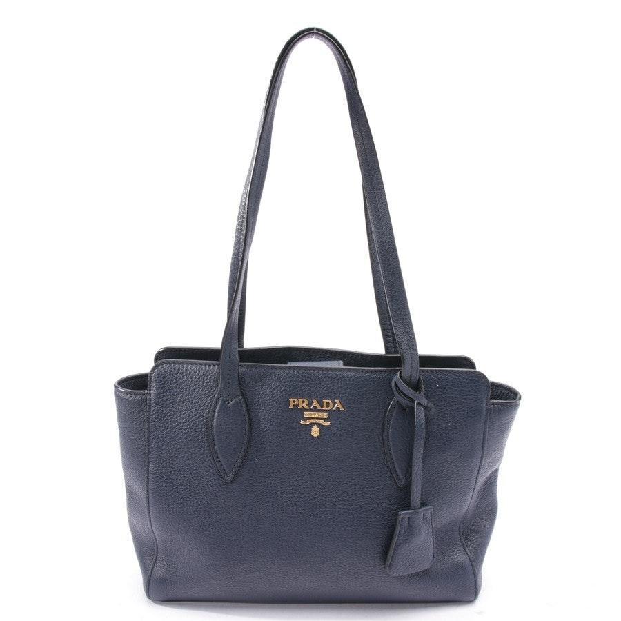 shoulder bag from Prada in dark blue