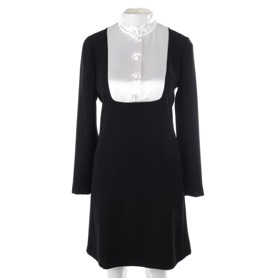 Kleid von Lanvin in Schwarz und Weiß Gr. 34 FR 36