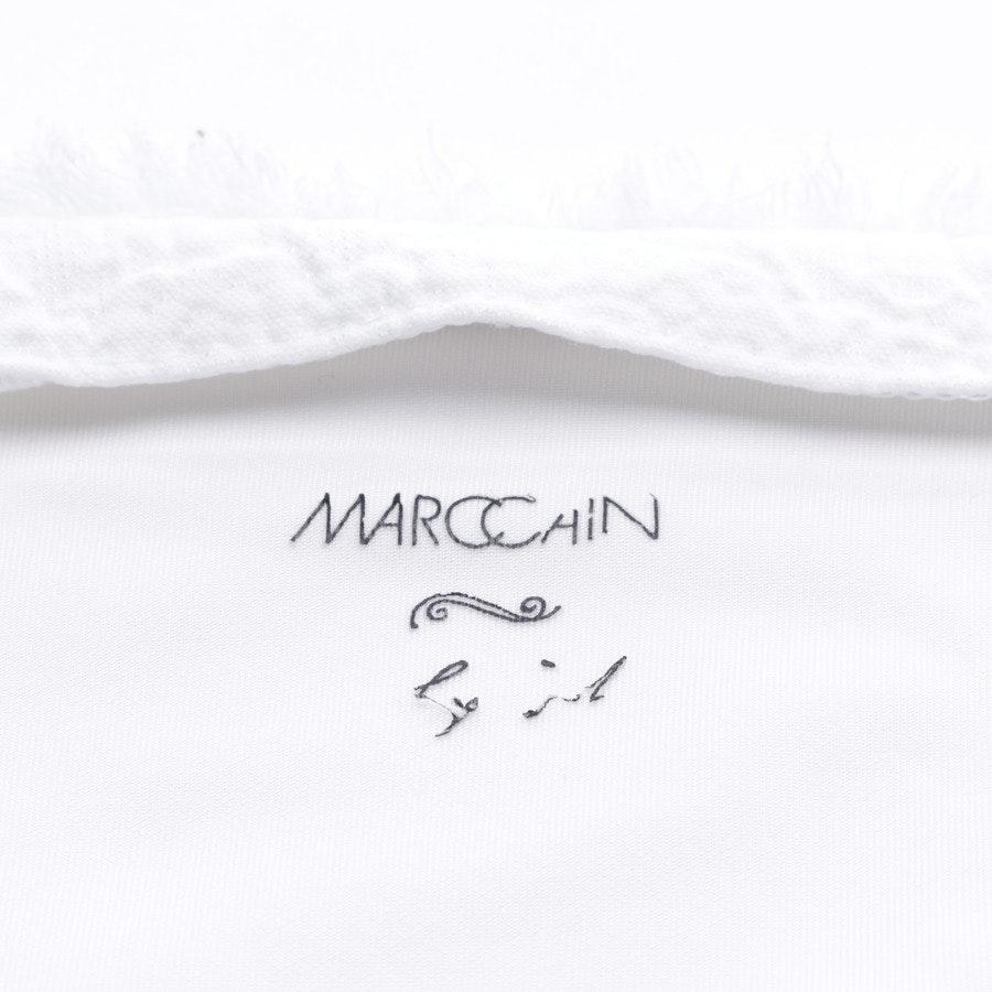 Sommerjacke von Marc Cain in Weiß Gr. 36