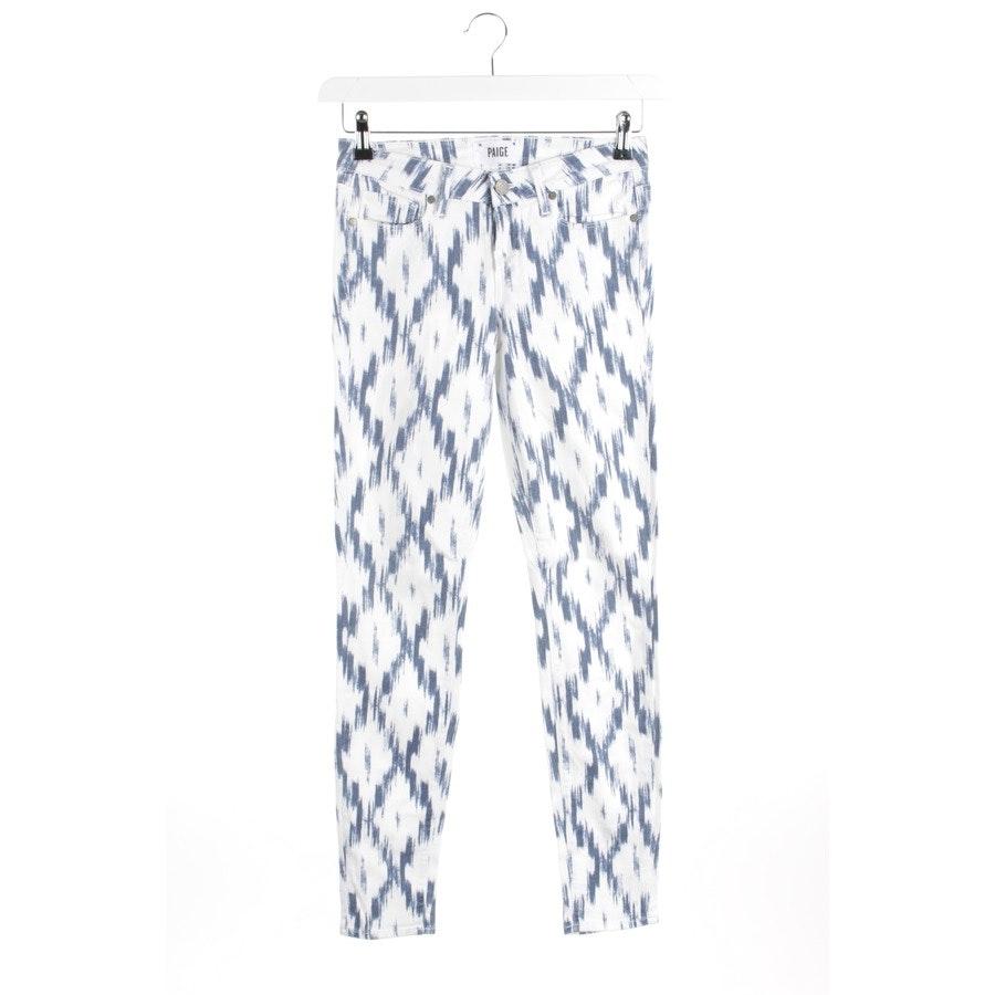 Jeans von Paige in Indigo und Weiß Gr. W26