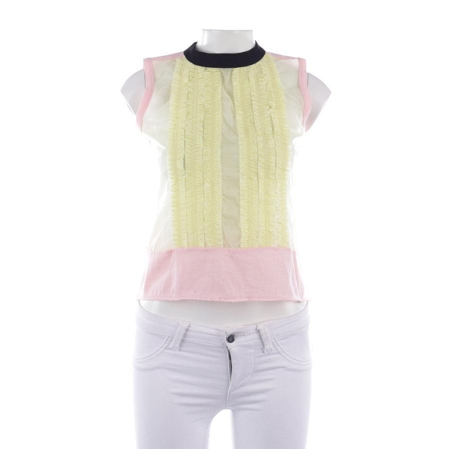 Shirt von Marni in Zartrosa und Gelb Gr. S