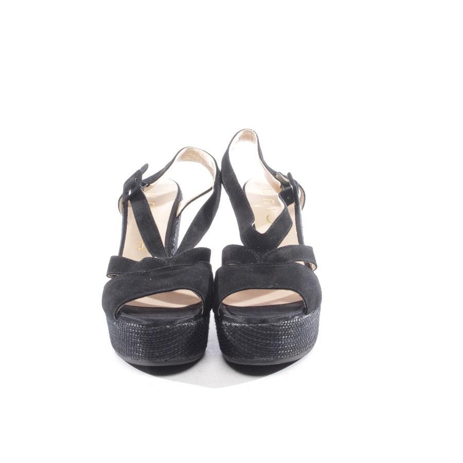 Sandaletten von Unisa in Schwarz Gr. D 38 - Neu