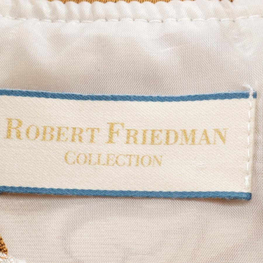 Blouson von Robert Friedman in Beigebraun und Silber Gr. XL