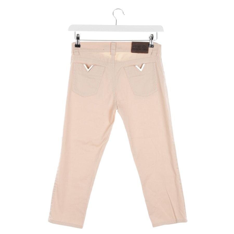 Jeans von Red Valentino in Lachsrosa Gr. W28