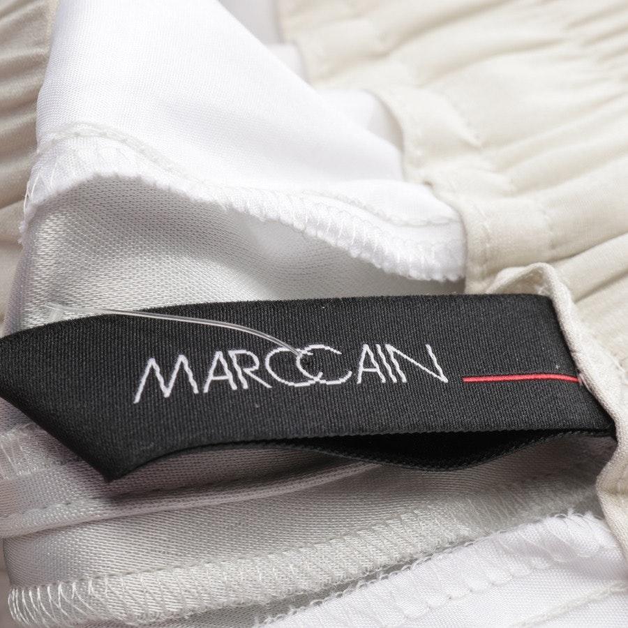 Hose von Marc Cain in Silber Gr. 34 N 1 - Neu