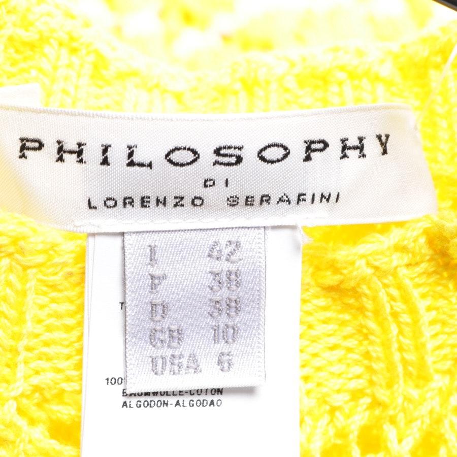 shirts / tops from Philosophy di Lorenzo Serafini in sun-yellow size 38