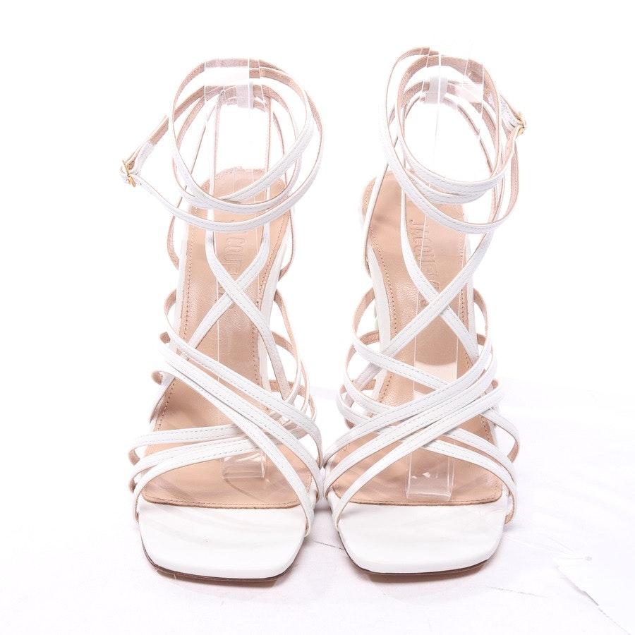 Sandaletten von Jacquemus in Weiß Gr. EUR 40,5 - Neu