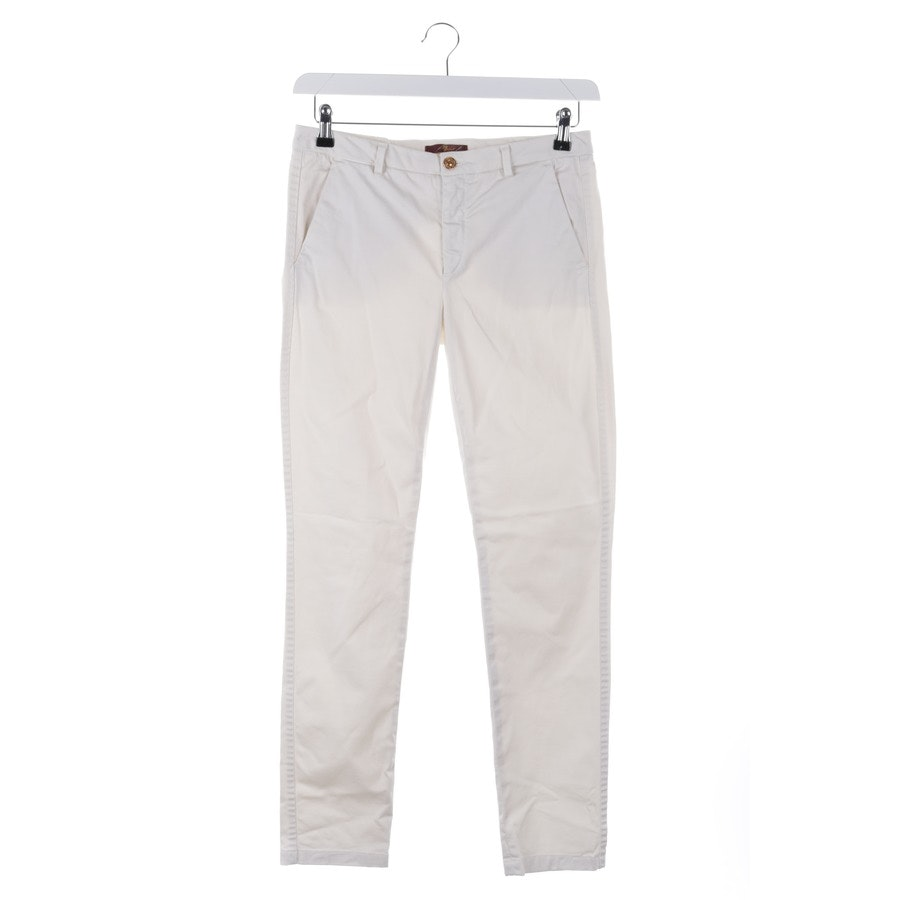 Hose von 7 for all mankind in Cremeweiß Gr. W27