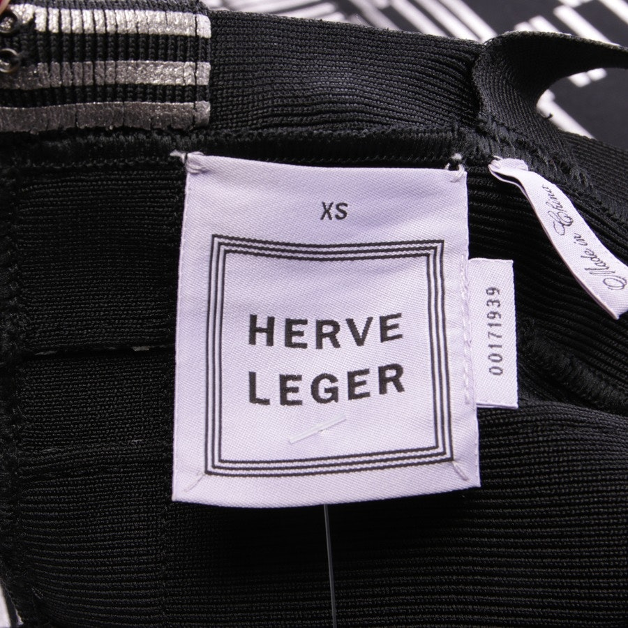 dress from Hervé Léger in black and silver size XS